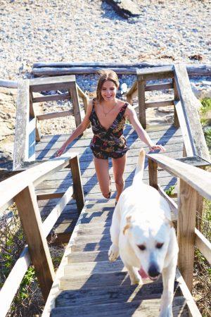 Tilda Lindstam Kicks Back in Summer Styles for Free People Lookbook