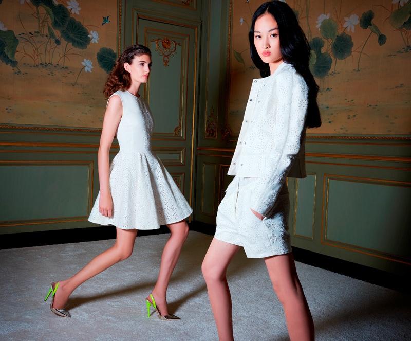 The couture designer creates a <a class=