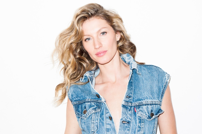 The images are from on set of Gisele's W Korea cover shoot