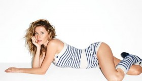 Gisele Bundchen poses for photographer Terry Richardson in the photo shoot