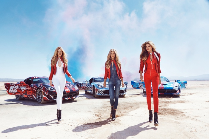 Guess has launched a new campaign for Gumball 3000's 2015 event