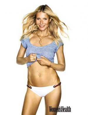 Gwyneth Paltrow Flaunts Her Midriff in Women's Health Shoot