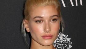 BEFORE: Hailey Baldwin with blonde hair. Photo: JStone / Shutterstock.com