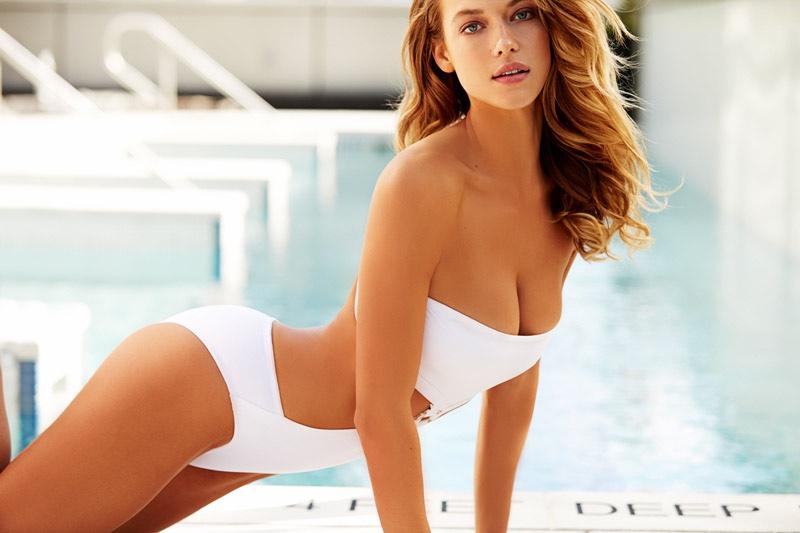 Hannah Ferguson Wows in SI Swimsuit's 'Summer of Swim' Shoot