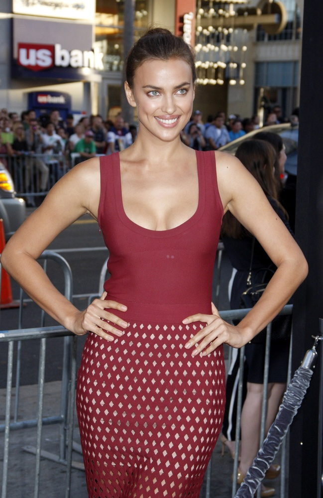 Model Irina Shayk. Photo: tinseltown / Shutterstock.com