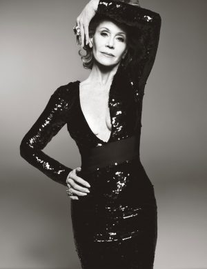Jane Fonda Stars in W, Talks Being Called a Fashion Icon at 77