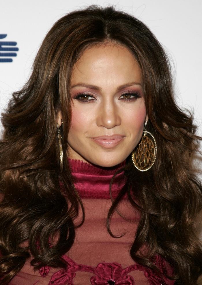 Jennifer Lopez Hairstyles: Long Hairdos on Jennifer Lopez