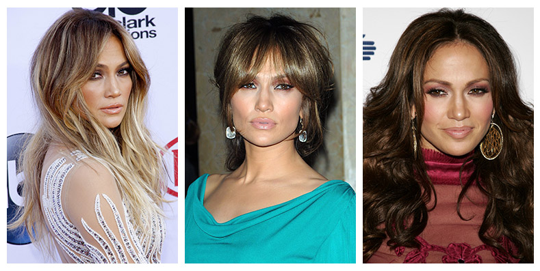From Blonde To Brunette Jennifer Lopez Has Had Some Y Hairstyles Through The Years