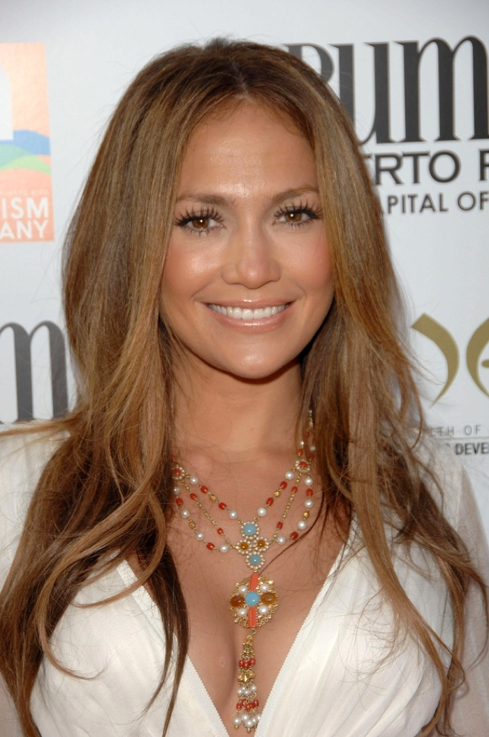 Jennifer Lopez Hairstyles: Long Hairdos on Jennifer Lopez - Bun Hairstyles For Natural Hair