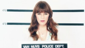 Jenny Lewis in still from 'She's Not Me' music video