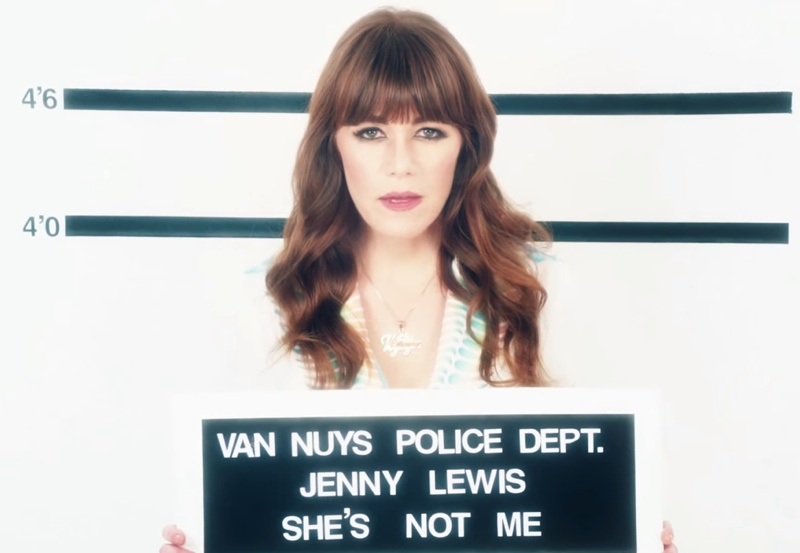 Jenny Lewis Channels Childhood Acting Days with 'She's Not Me' Music Video