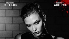 Karlie Kloss is Knockout for a poster promoting Taylor Swift's Bad Blood music video.