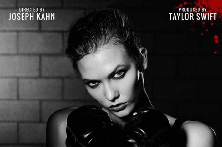 Karlie-Kloss-Taylor-Swift-Bad-Blood-Music-Video-Poster-2015