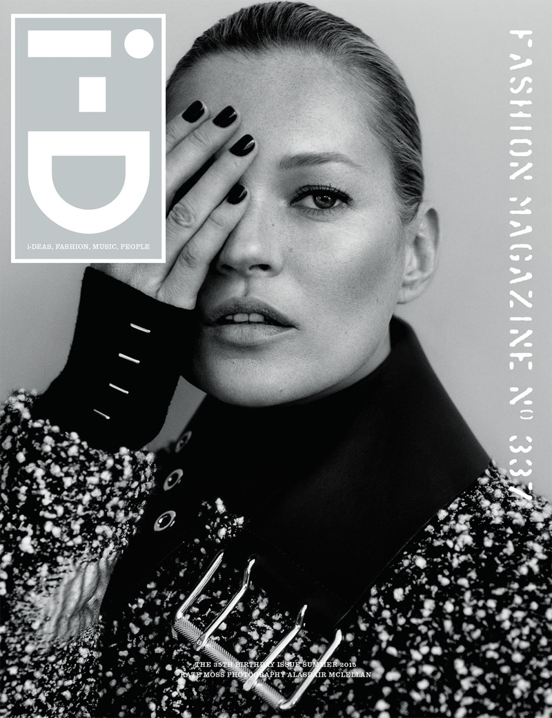 i-D Taps Kate Moss, Lara Stone, Freja Beha for 35th Anniversary Covers