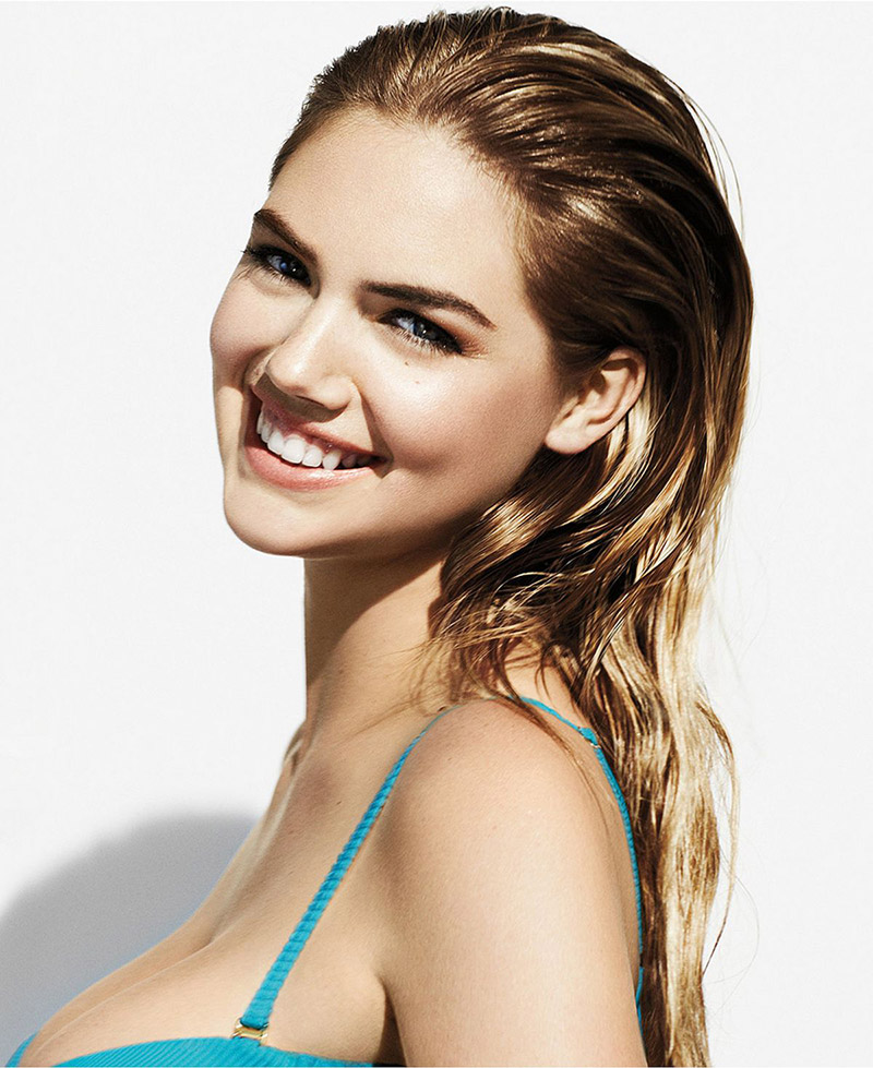 Kate Upton stars in Bobbi Brown 'Summer Nudes' Makeup advertisement.