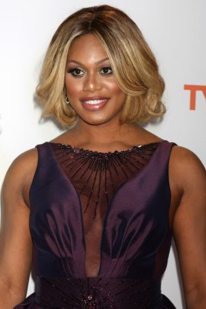 Laverne Cox Joins the No Makeup Selfie Trend