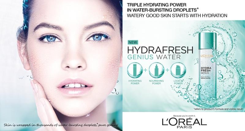Barbara Palvin for L'Oreal Paris 'Hydrafresh' campaign