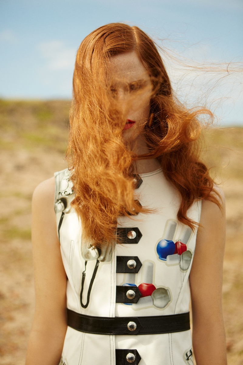 The Polish model has appeared in campaigns for brands like Valentino and Carven