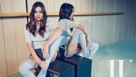 Miranda Kerr stars in an editorial for W Korea