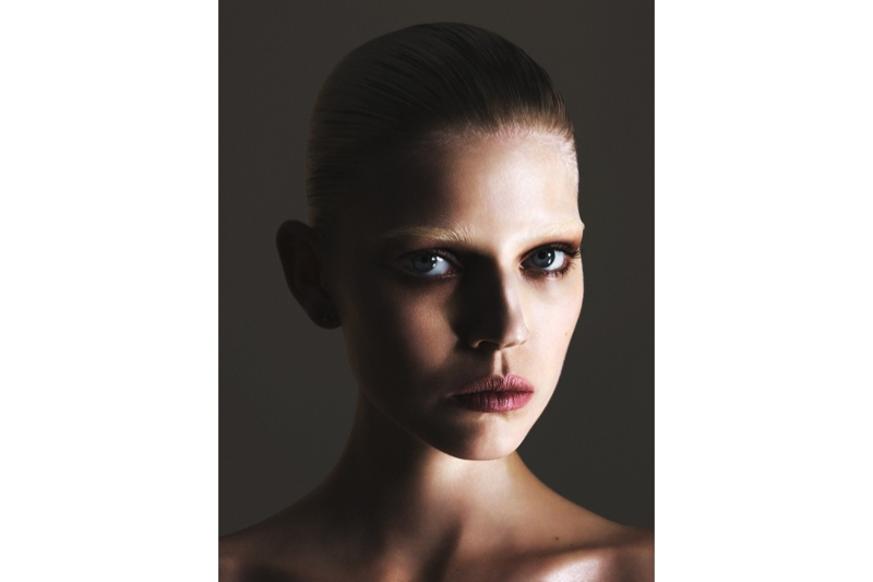 A closeup image of Ola Rudnicka