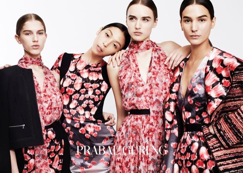 Prabal Gurung Embraces Prints for Pre-Fall 2015 Campaign