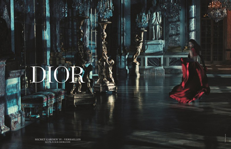 Rihanna is sultry for Dior's 2015 Secret Garden campaign.