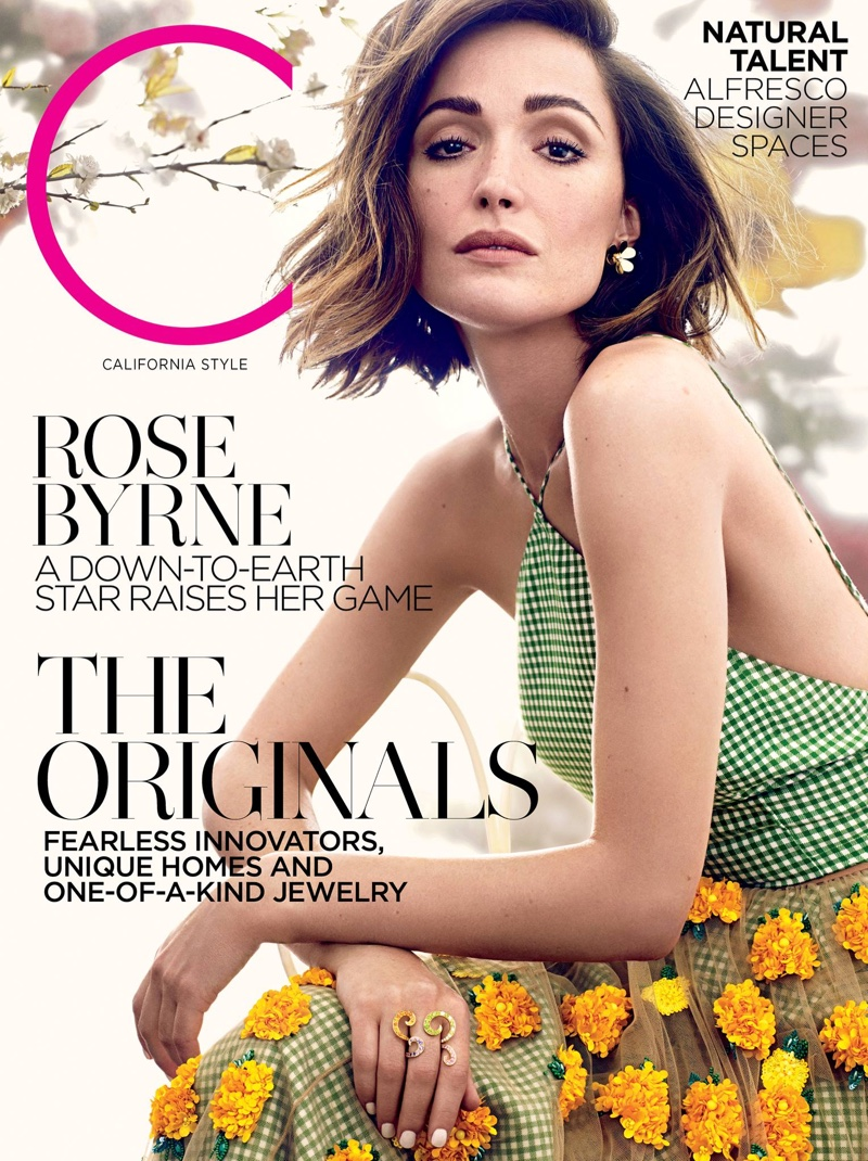 Rose Byrne graces C Magazine cover