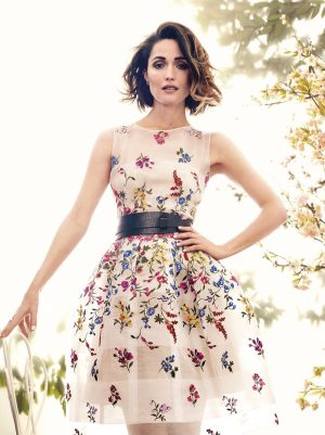 Rose Byrne Stuns in Spring Florals for C Magazine
