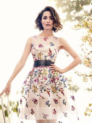 Rose Byrne Stuns in Spring Florals for C Magazine