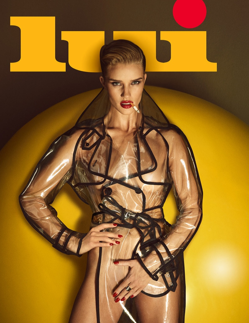 Rosie Huntington-Whitley lands the June 2015 cover of Lui Magazine