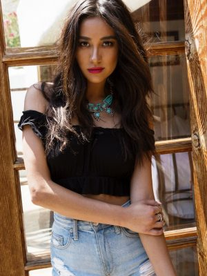Shay Mitchell Shows Off Summer Looks in Amore & Vita Shoot