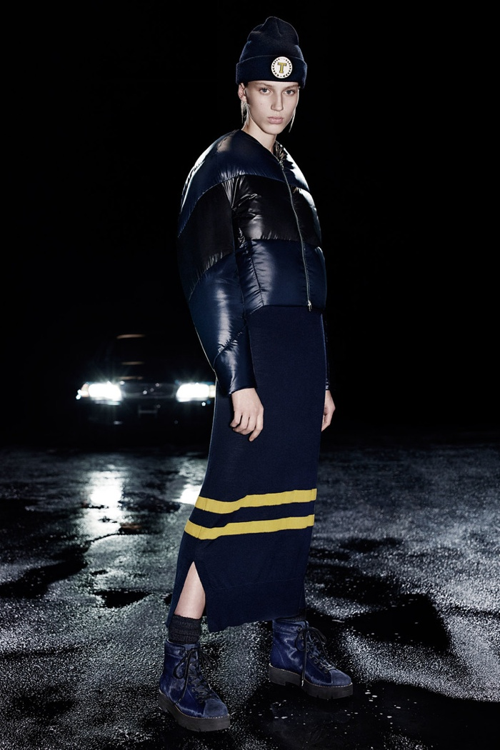A look from T by Alexander Wang's pre-fall 2015 collection
