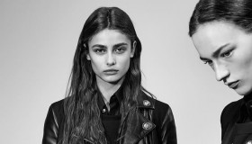 Taylor Hill stars in Versus Versace Fall-Winter 2015 Campaign