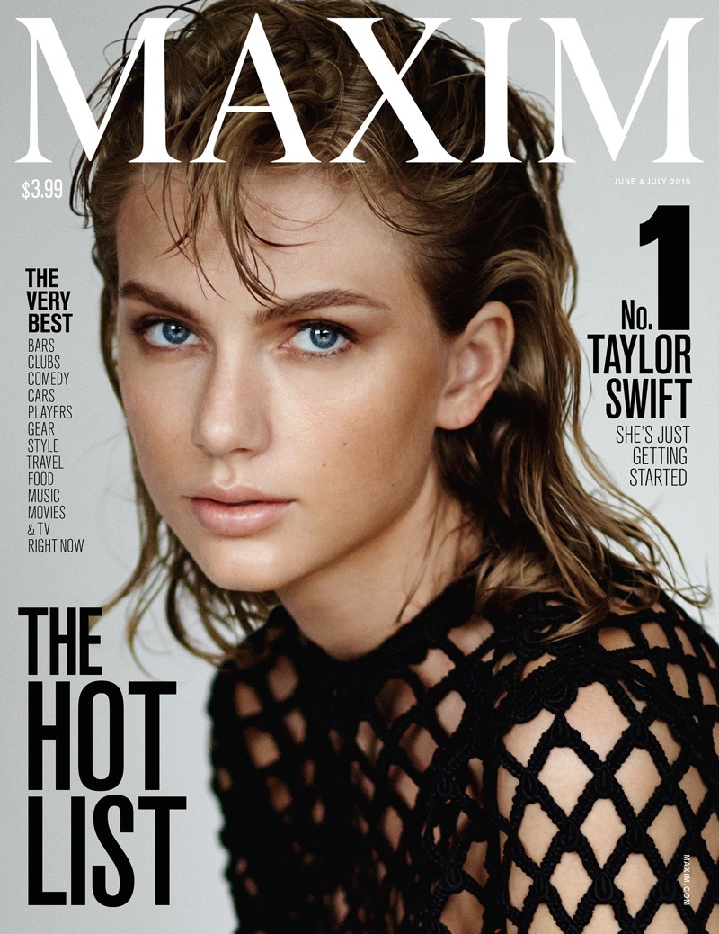 Taylor Swift lands Maxim's Hot 100 cover for June/July 2015
