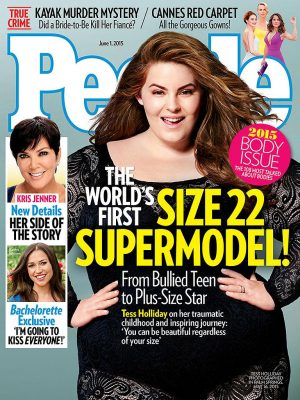 Size 22 Model Tess Holliday Covers People Magazine