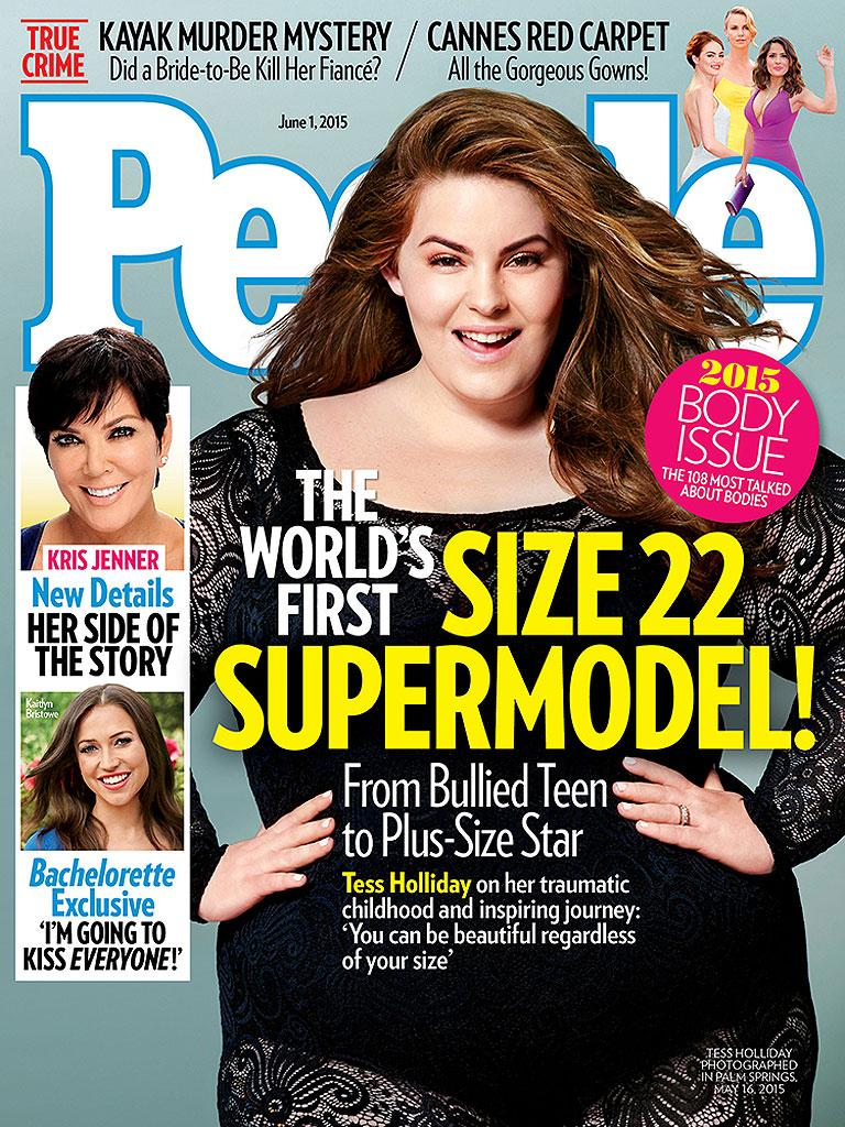 Tess Holliday lands the June 1, 2015, cover of of PEOPLE Magazine