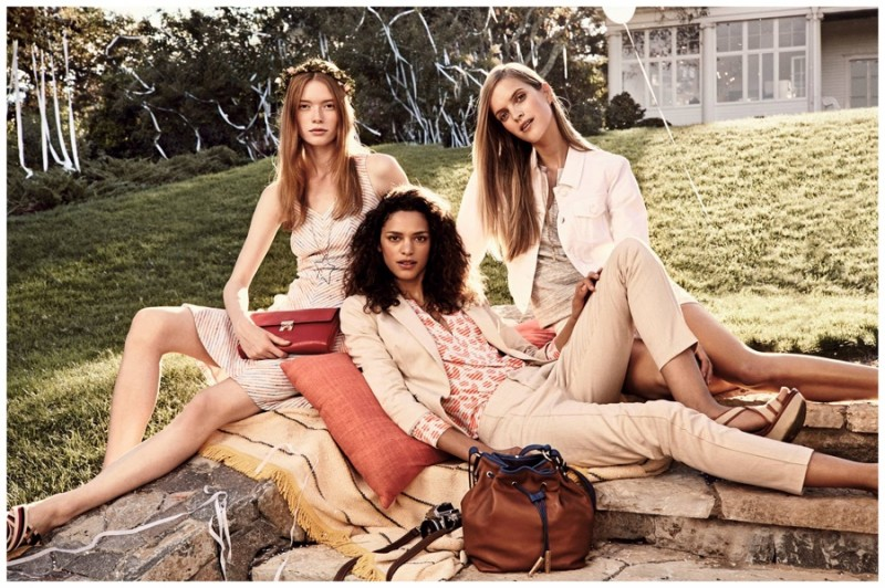 Tommy Hilfiger does right by summer neutrals.
