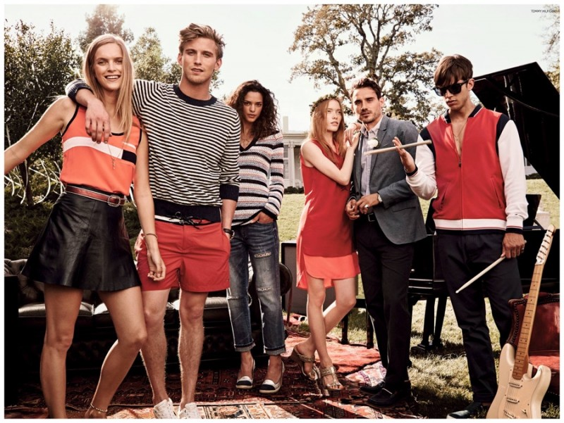 Tommy Hilfiger embraces backyard style just in time for summer.