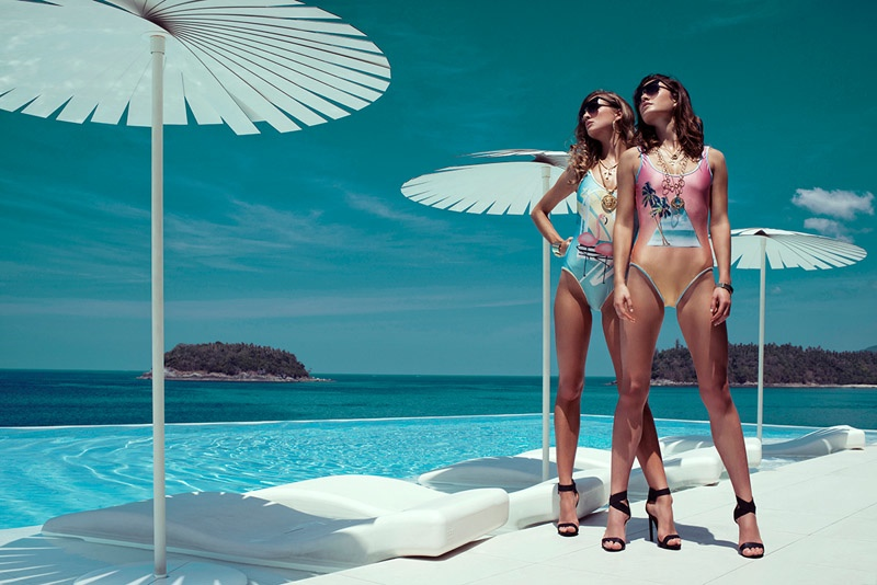 The Australian swimsuit label was inspired by Miami for the new season