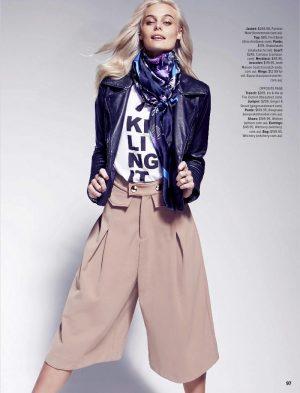 Taylah Roberts Wears the Pants for Cosmopolitan Australia Editorial
