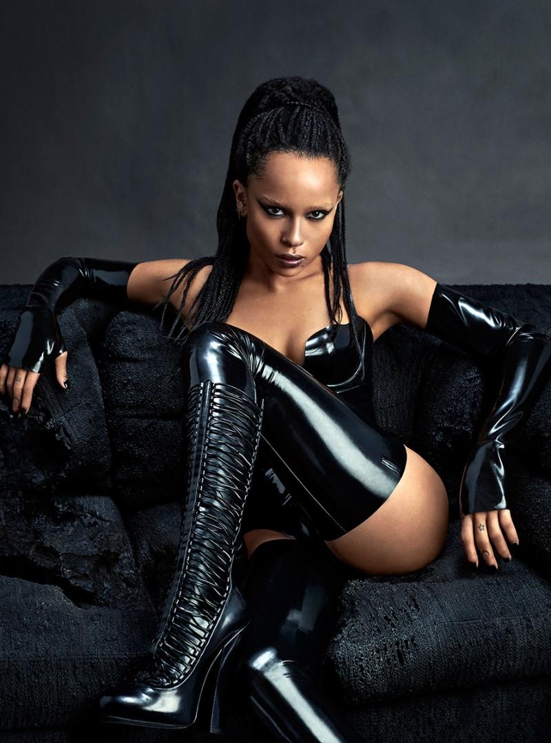 Zoe Kravitz Channels Dominatrix For Sexy Complex Photo