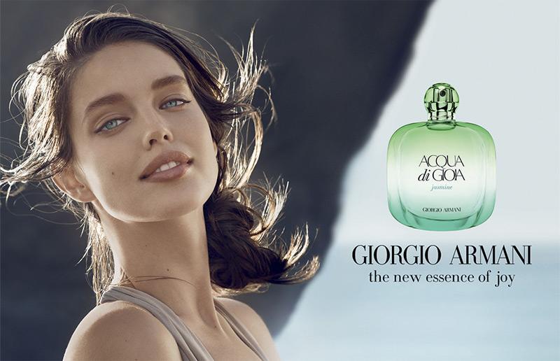 Emily DiDonato stars in 'Acqua di Gioia Jasmine' fragrance.
