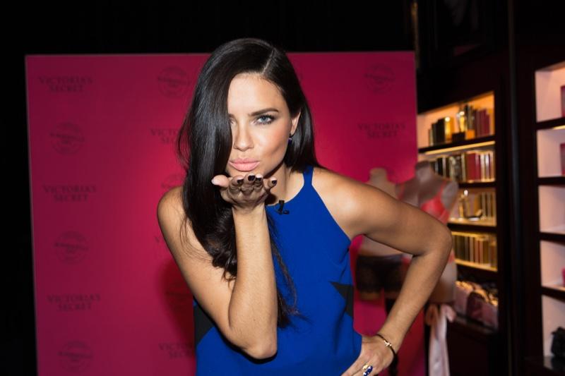 Adriana Lima, Candice Swanepoel Celebrate Bombshells' Day
