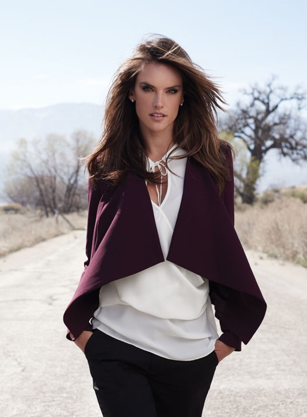 Alessandra models casual chic styles from the Mexican brand