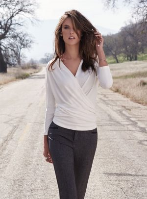 Alessandra Ambrosio Models Relaxed Style for New Campaign