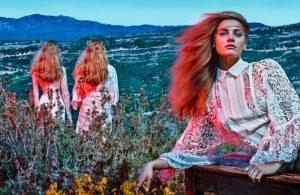 Anna Jagodzinska is a Vision in White for Viva! Moda