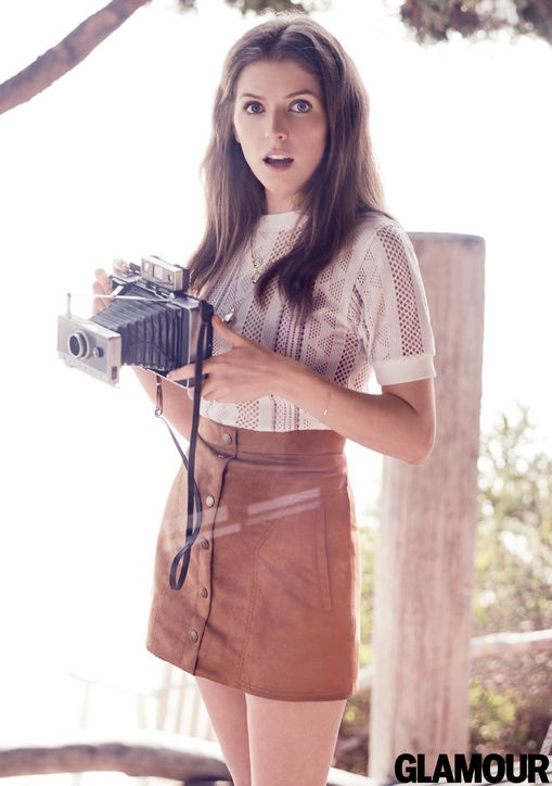 Anna takes on casual glam style for the feature