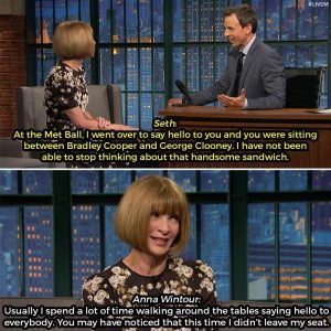 Anna Wintour Gives Her Opinion on Met Gala Fashion, Is a Comedy Icon