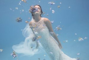 BHLDN Dives into Summer with Underwater Bridal Shoot