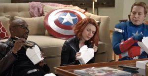 Scarlett Johansson Stars in Hilarious Black Widow Parody for SNL